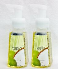 2 Bath & Body Works COCONUT LIME VERBENA Anti-bacterial FOAMING Hand Soap