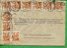 GERMANY COVER Early 1900's Multiple Cancels / Printed & Typed Writing  - FC231