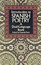 Poetry Paperback Textbooks in Spanish