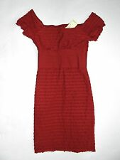 New With Tags MAX STUDIO Red Off The Shoulder Dress Size XS!