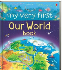 Usborne My Very First Our World Book (bb)  travel around the world,reefs,desert+