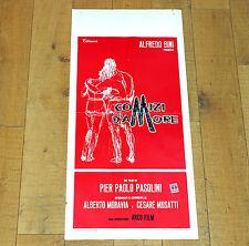 COMIZI D'AMORE locandina poster affiche Pasolini Moravia Musatti i64