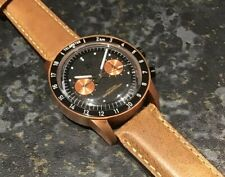 TC-9 Lunarscope  Watch.  Solid Bronze.  Seagull Mechanical Chronograph.