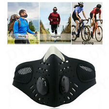 Outdoor Riding Masks Air Purifying PM2.5 Face Mask Activated Carbon w/ Filter US