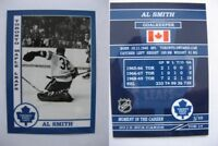 2015 SCA Al Smith Toronto Maple Leafs goalie never issued produced #d/10