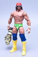 Mattel WWE Macho Man Randy Savage Wrestling Figure 2011 Stamped number