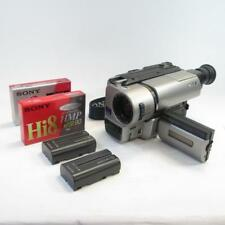 Sony Handycam Vision Hi8 vidéo CCD-TRV65E Caméscope avec Inutilisé ruban (non testé)