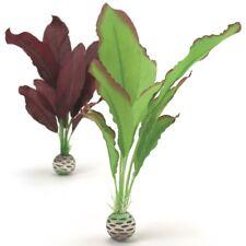 biOrb Aquarium Dekoration Deko-Pflanze künstliche Seide Set mittel grün & lila