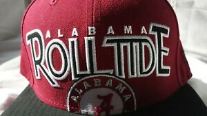 ALABAMA ROLL TIDE New Era 59FIFTY fitted hat (size: 7 1/2, 7 1/4, 7 1/8, 7) RARE