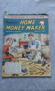 Practical Home Money Maker Feb 1958 Crafts/Projects, Articles, Adverts