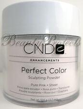 CND Enhancements Perfect Color Sculpting Powder Acrylic - Pure Pink Sheer 3.7oz