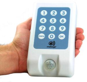 GSM Einbruch Alarmsystem MOBEYE i110 benachrichtigt Sie im Einbruchsfall !!