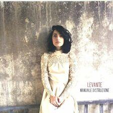 """LEVANTE """"MANUALE DISTRUZIONE""""  lp 180 gr. edizione limitata numerata sigillato"""