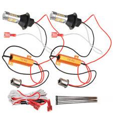 2x 1156 P21W S25 BA15S 42LED Switchback White DRL Amber Turn Signal Light Part