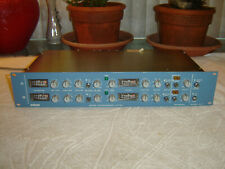 Orban 424A, 2 Channel Gated Compressor Limiter Deesser, Vintage Rack