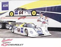 1991 MTI Vacations Racing Chevy Intrepid IMSA GTP postcard Kendall Taylor