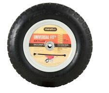 New Marathon 14.25 inch High Tire & Wheel for Wheelbarrow, Cart, Wagon