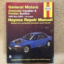 HAYNES REPAIR MANUAL CHEVROLET CAVALIER & PONTIAC SUNFIRE '95-'04