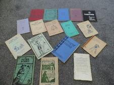More details for vintage boy books & booklets big lot x17 c1950s