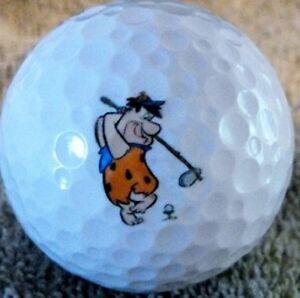 3 Dozen Fred Flinstones Golf Logo Bridgestone Mix Mint AAAAA Used Golf Balls