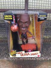 Vintage Limited Edition NBA Ultra Jams Michael Jordan Action Figure Collectible