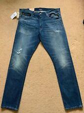 """Polo Ralph Lauren Men's Sullivan Slim Distressed Blue Jeans, W38"""", L32"""", £160"""