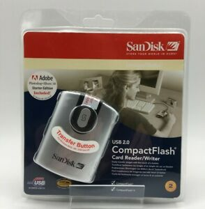 SanDisk CF USB2.0 Reader with Button (SDDR-92-E15)