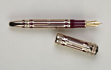 NEW MONTBLANC CATHRINE THE GREAT FOUNTAIN PEN RARE MONT BLANC (ASK4 DISCOUNT)