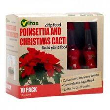 Vitax Drip Nourriture Maison Engrais Fertilisant Poinsettia Et Cactées De Noël