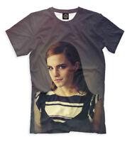 Emma Charlotte Duerre Watson t-shirt English actress model print