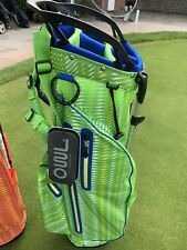 OUUL Python 100% Waterproof Funky Stand Bag Green Brand New **Sale**