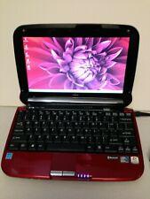 Ruby Red Fujitsu Lifebook MH380 Mini-Notebook UMPC