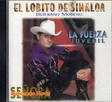 El Lobito De Sinaloa La Fuerza Juvenil CD New Sealed