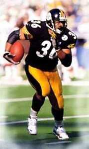 Jerome Bettis Pittsburgh Steelers Art Print