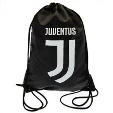 Juventus FC Draw String Sports Gym Bag - Black