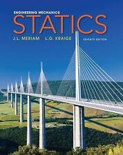 Meriam, Kraige, 7th edition Engineering Mechanics: Statics