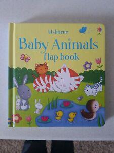 Usborne - Baby Animals Flap Book - NEW - Free Ship