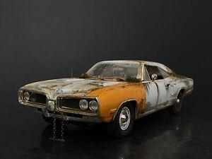 1970 Dodge Coronet Super Bee & Trailer Abandoned Find Unrestored 1/18 Kodeblake