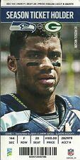 WEEK 1 2014 PACKERS VS Seahawks Ticket Stub CENTURY LINK RODGERS RUSSELL WILSON