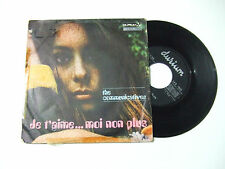 The Communicatives – Je T'aime... Moi Non Plus-Disco Vinile 45 Giri ITALIA 1969