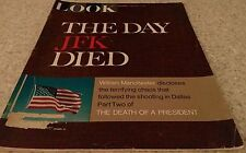 """LOOK MAGAZINE, Cover """"THE DAY JFK DIED"""" Feb 7, 1967, DEATH OF A PRESIDENT PART 2"""