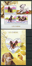 Madagascar 2017 MNH Dogs 3v M/S 1v S/S Chiens Pets Domestic Animals Stamps