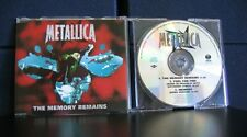 Metallica - The Memory Remains 3 Track CD Single