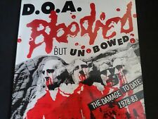 "D.O.A. ""Bloodied But Unbowed"" Original LP. Mexico pressing (CD016) 1986. RARE !"