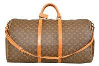 Louis Vuitton Monogram Keepall 60 Bandouliere Travel Bag Strap M41412 - YG00596