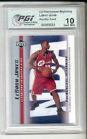 LeBron James 2003 PGI 10 PHENOMENAL BEGINNING Rookie Card 15