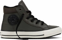 SCARPE SNEAKERS UOMO DONNA CONVERSE ALL STAR CT AS HI 654310C CHARCOAL PELLE
