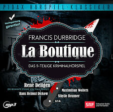 Francis Durbridge La Boutique * CD Hörspiel Krimi MP3-CD Pidax Neu Ovp