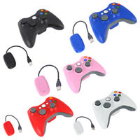 2.4G Wireless Game Controller Gamepads Joysticks+Receiver For Microsoft Xbox 360