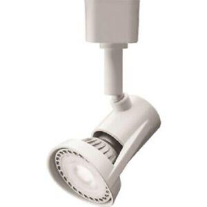 LITHONIA LIGHTING 4.5W White MR16GU10 LED Track Head - NO BULB